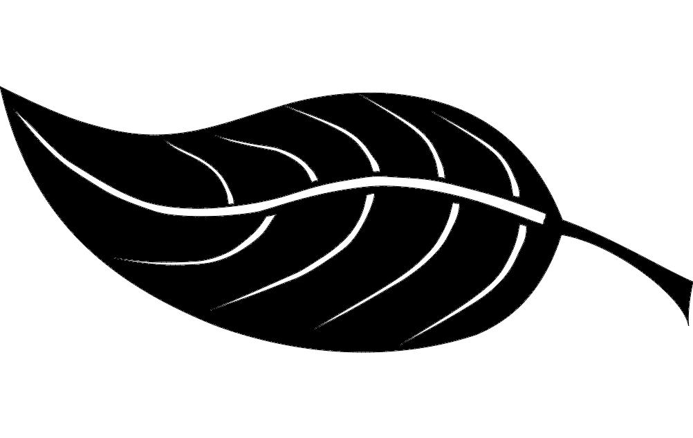 Leaf Dxf File Free Download