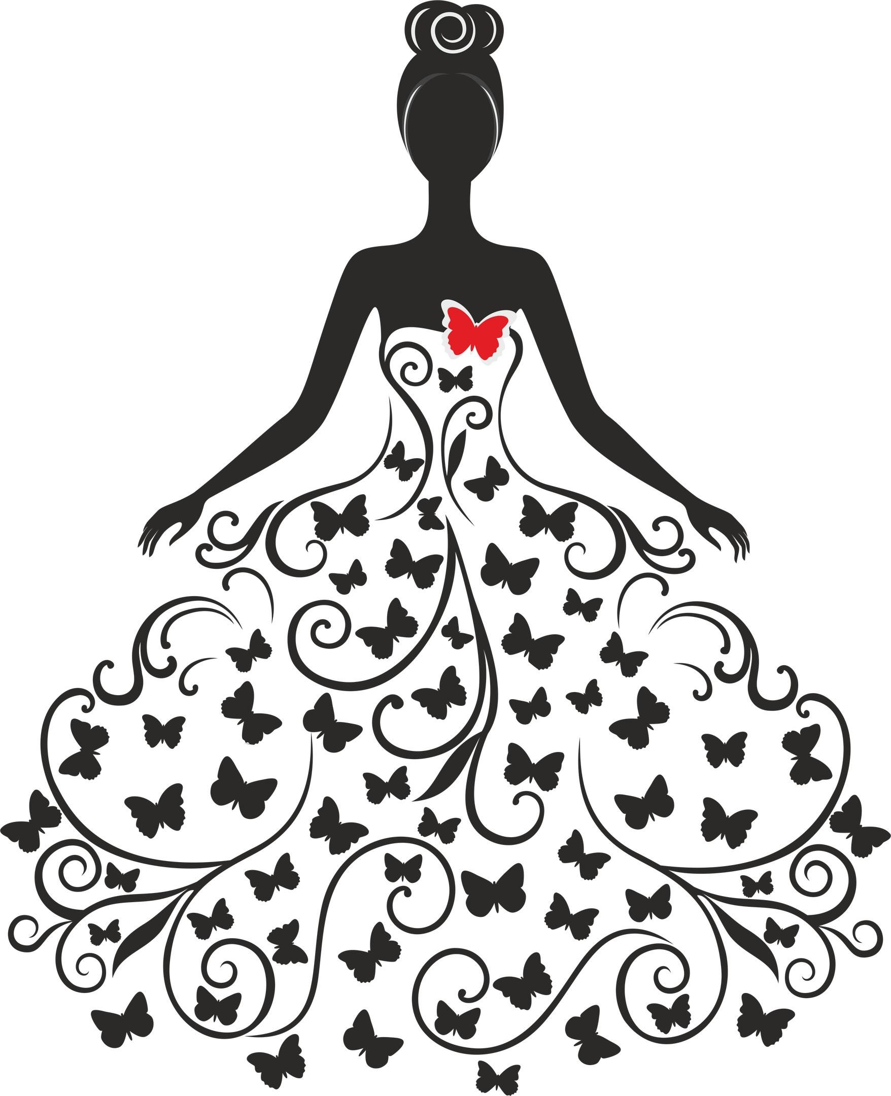 Wedding Silhouette Free Vector Cdr Download
