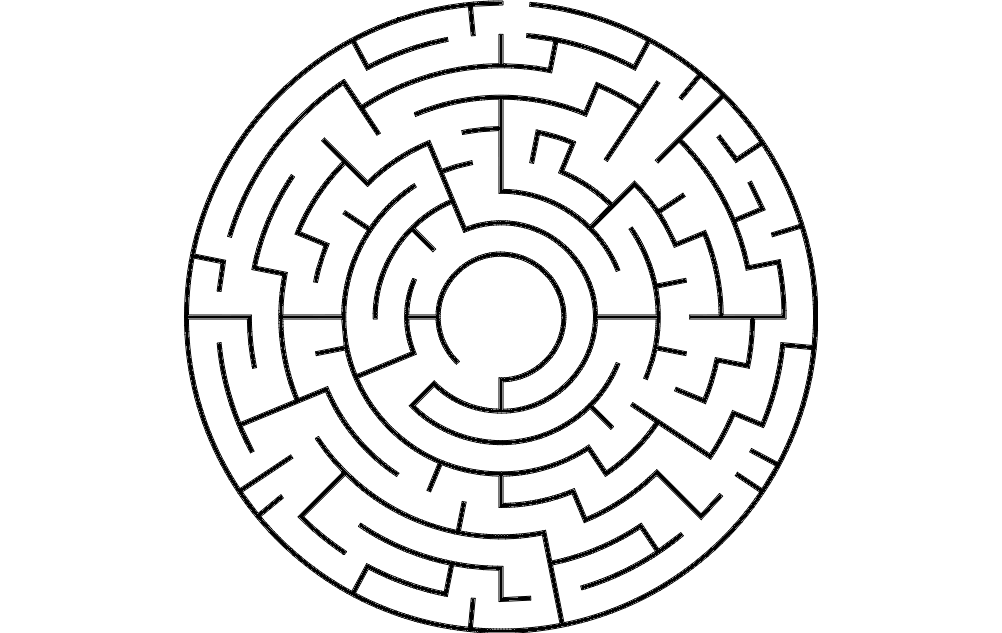 Circular Maze Dxf File Free Download 3axis Co