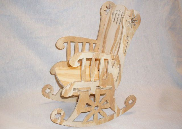 Rocking Chair Cnc Project 1 16 Inch Bit Dxf File Free