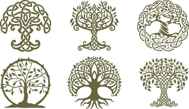 Celtic Trees Dxf File Free Download 3axis Co