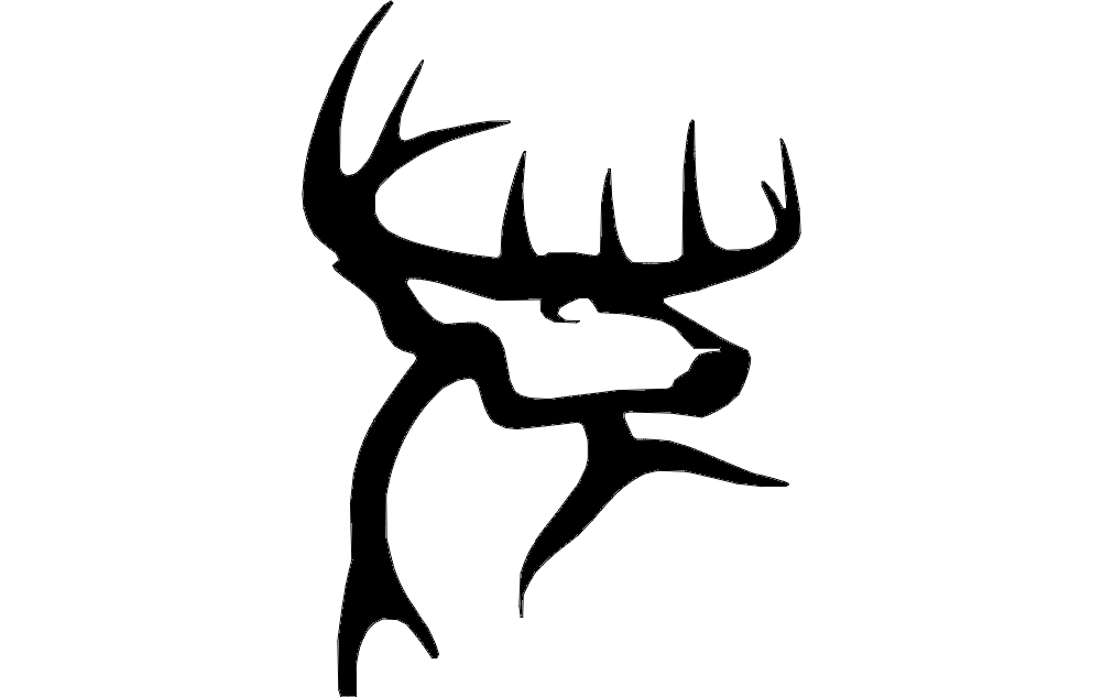 Deer Trace Dxf File Free Download