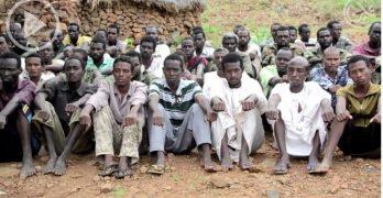 أسرى الجيش السوداني