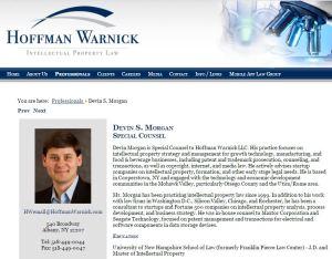 Hoffman Warnick Devin S Morgan