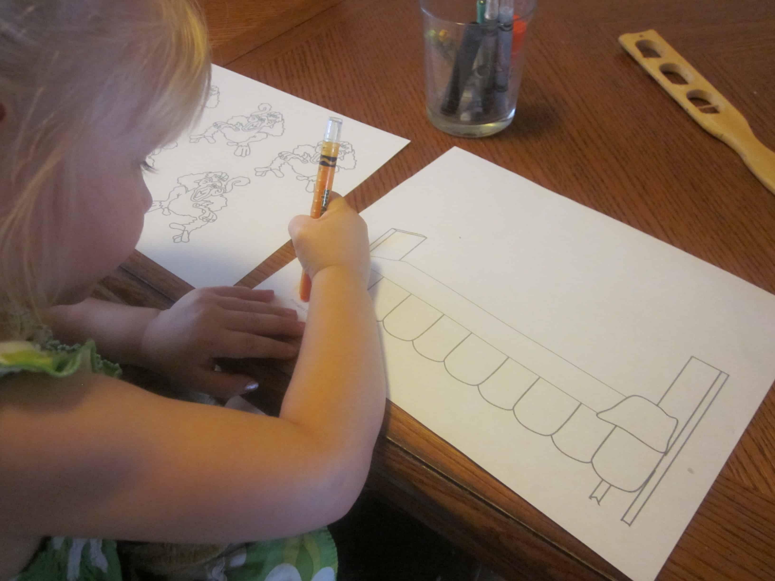 Educational Preschool Activity M Is For Monkey 3 Boys