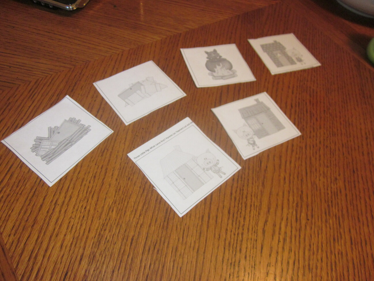 Three Little Pigs Sequencing Cards Printable 3 Boys And A Dog