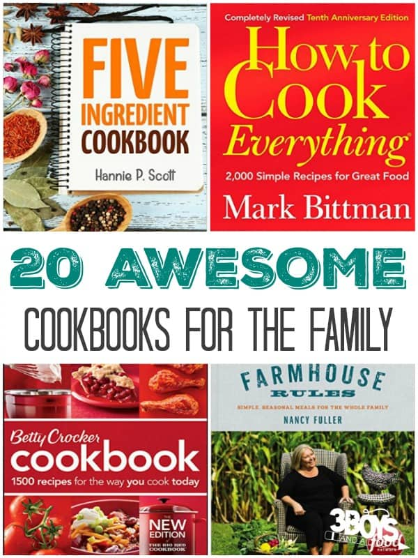 Favorite Cookbooks And Food Websites 3 Boys And A Dog