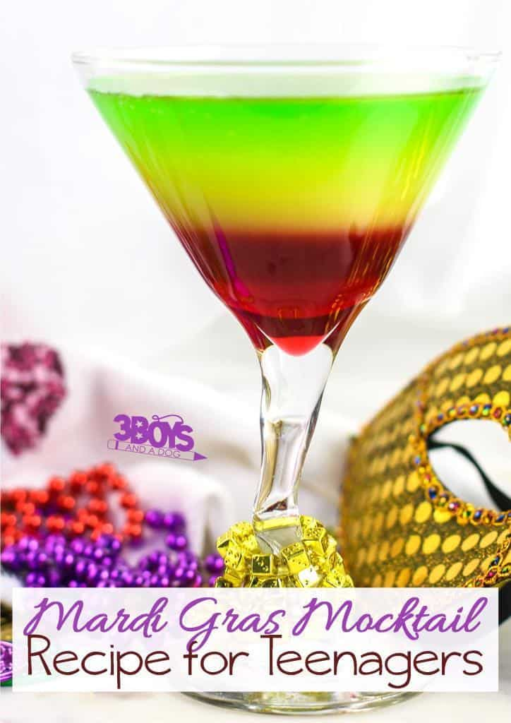Rainbow Mocktails For Kids Virgin Cocktail Recipe 3 Boys And A Dog