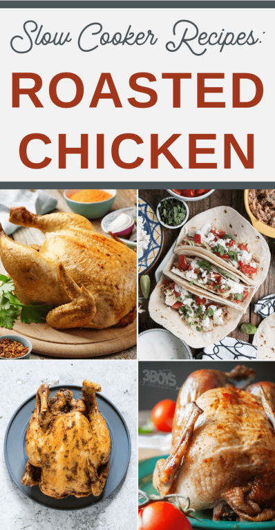 Roast Chicken Slow Cooker Recipes