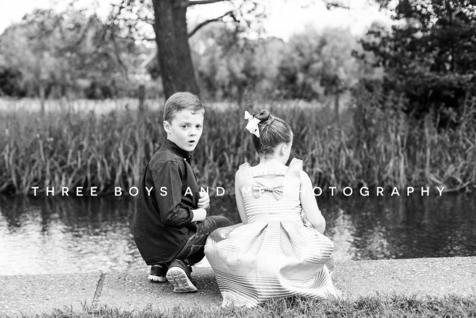 A wonderful family lifestyle shoot in Eynsford, Kent
