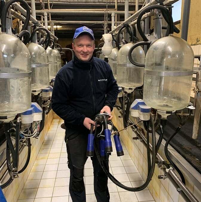 Guttorm Ingberg sine erfaringer med Milkrite trekantet spenegummi /Keno™mint SD.