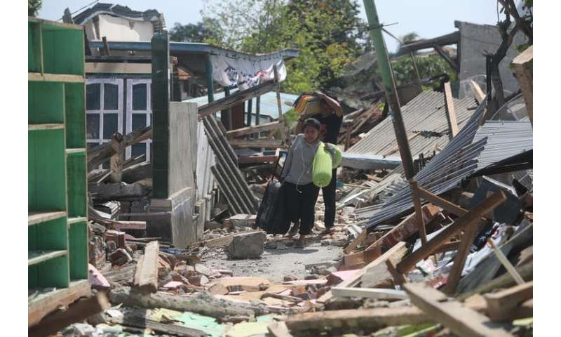 Indonesia earthquake—how scrap tyres could stop buildings collapsing