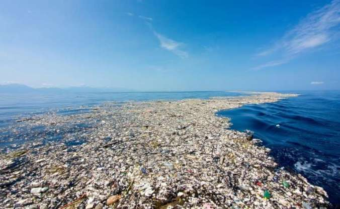Image result for plastic island pacific