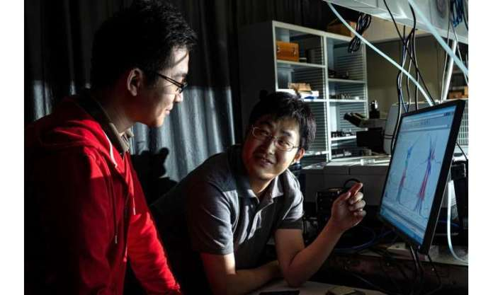 Rice device channels heat into light