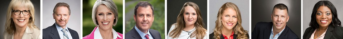 Collection of professional headshot examples