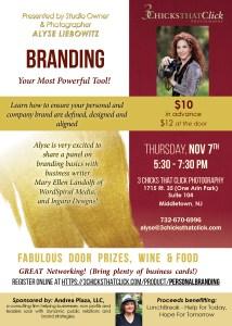 Personal Branding Studio Event