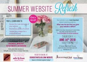 Website Refresh Workshop