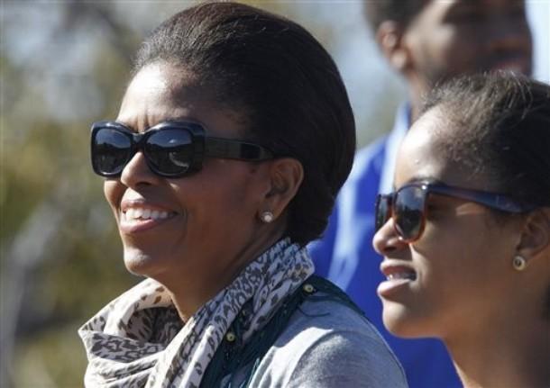 Michelle Obama, Malia Obama