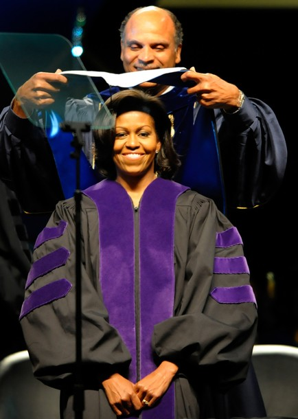 Michelle Obama Speaks At NC Agricultural and Technical State Univ. Commencement