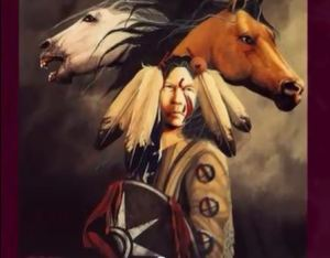 Native American and Horses