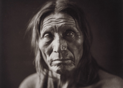 Portrait of a Native American named Big Head, ca. 1905. # Library of Congress/Edward S. Curtis