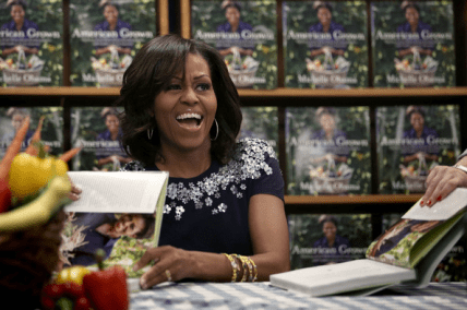 Michelle Obama book signing23