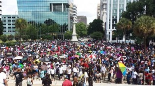 The South Carolina State House Justice for Trayvon rally