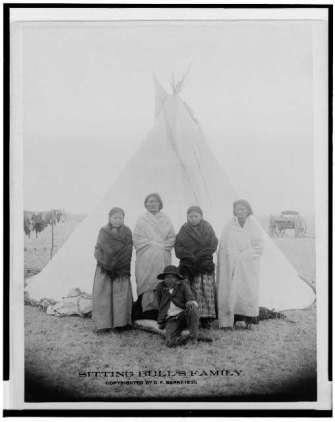 Sitting Bull family