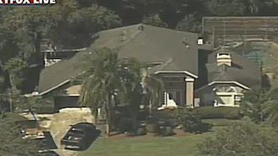 George and Shellie Zimmerman's house- Worth $240,000 with a pool, spa and fireplace