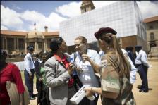 Mandela Lies In State12