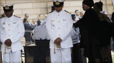 Mandela Lies In State17