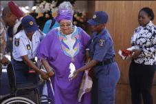 Mandela Lies In State40
