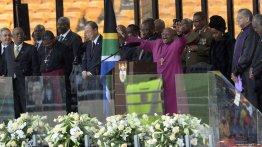 Memorial Service for Nelson Mandela 40