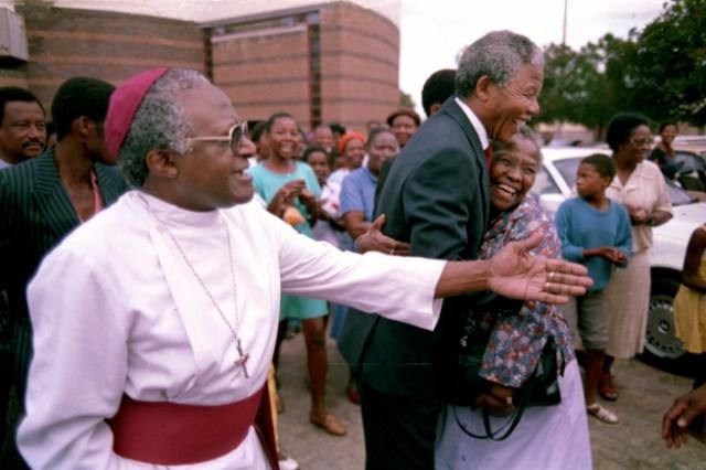 with bishop tutu