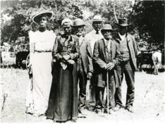 Juneteenth celebration in Austin, Texas, on June 19, 1900.