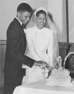 myrlie evers wedding