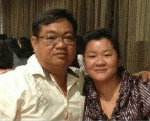 Faces of MH370-Chen Wei, left and Tan Sioh Peng