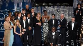 Lupita Nyong'o takes the Oscar for best supporting actress