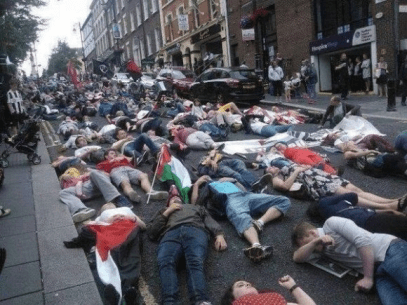 Protests for Gaza11