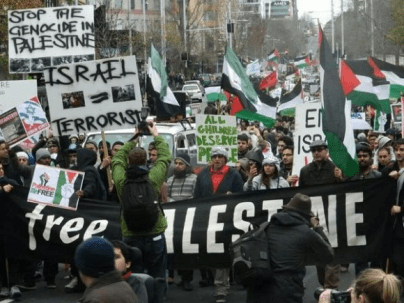Protests for Gaza50