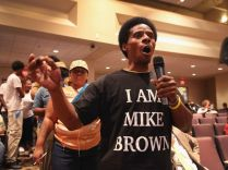 Ferguson city council meeting 7