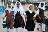Beauty of Africa- school children Lamu-Kenya