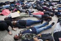 UTSA students protest Eric Garner, Ferguson deaths with 'die-in'