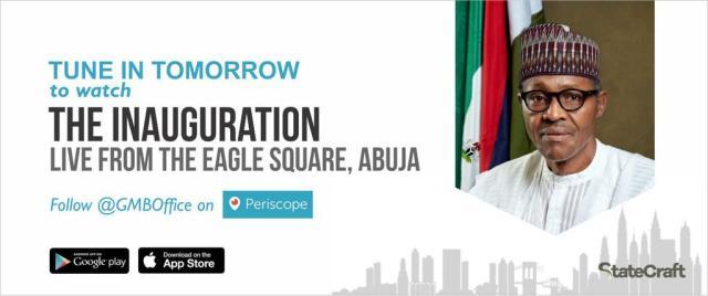 Buhari Inauguration