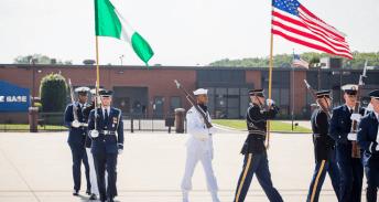 Buhari arrives in America 32