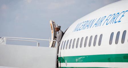 Buhari arrives in America 33