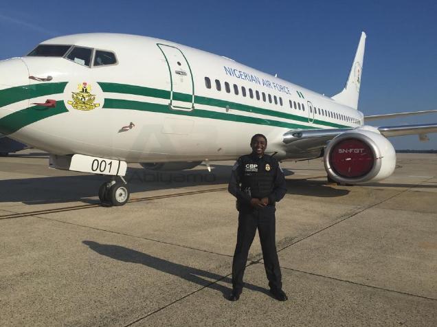 Buhari arrives in America 34