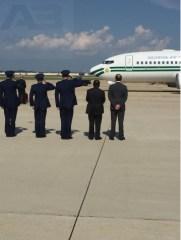 Buhari arrives in America 38