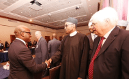 Buhari dinner organized by the US Chamber of Commerce & the Corporate Council on Africa 5