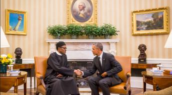 Buhari Meets Obama At The White House 14